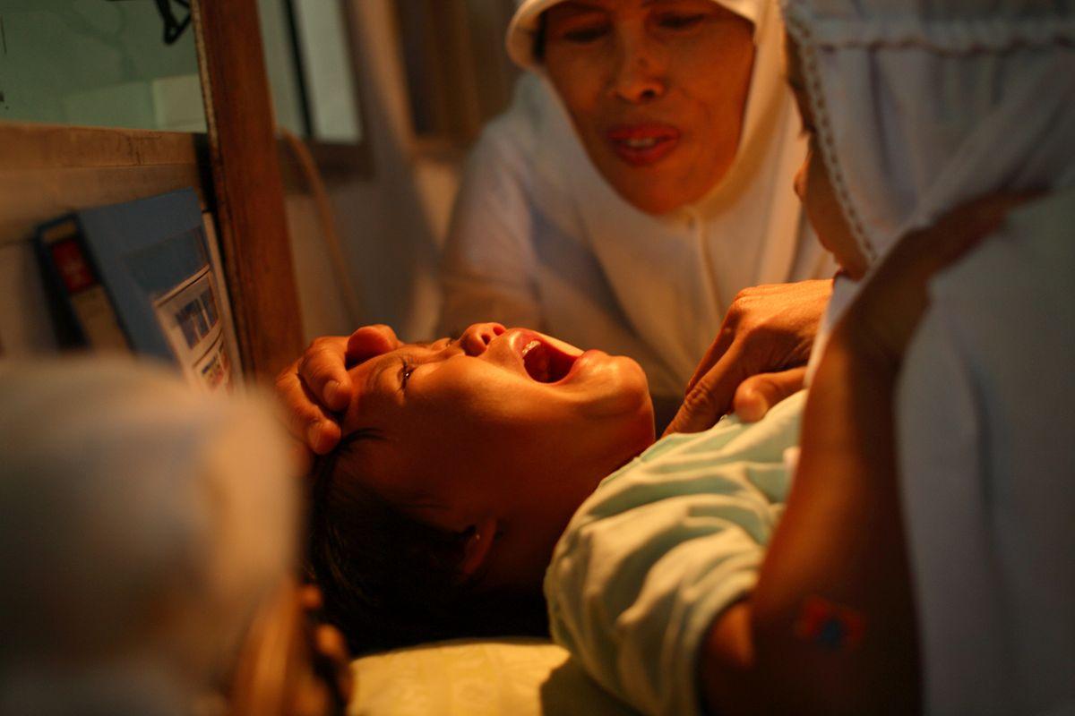 Женское обрезание ритуал