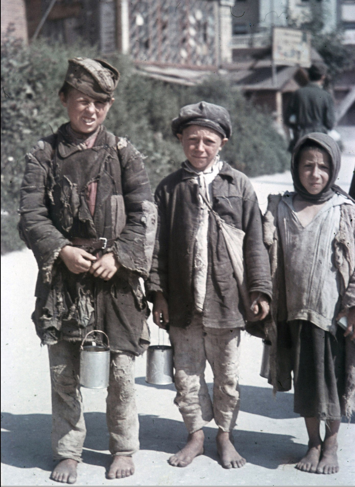 Фото детей во времена вов