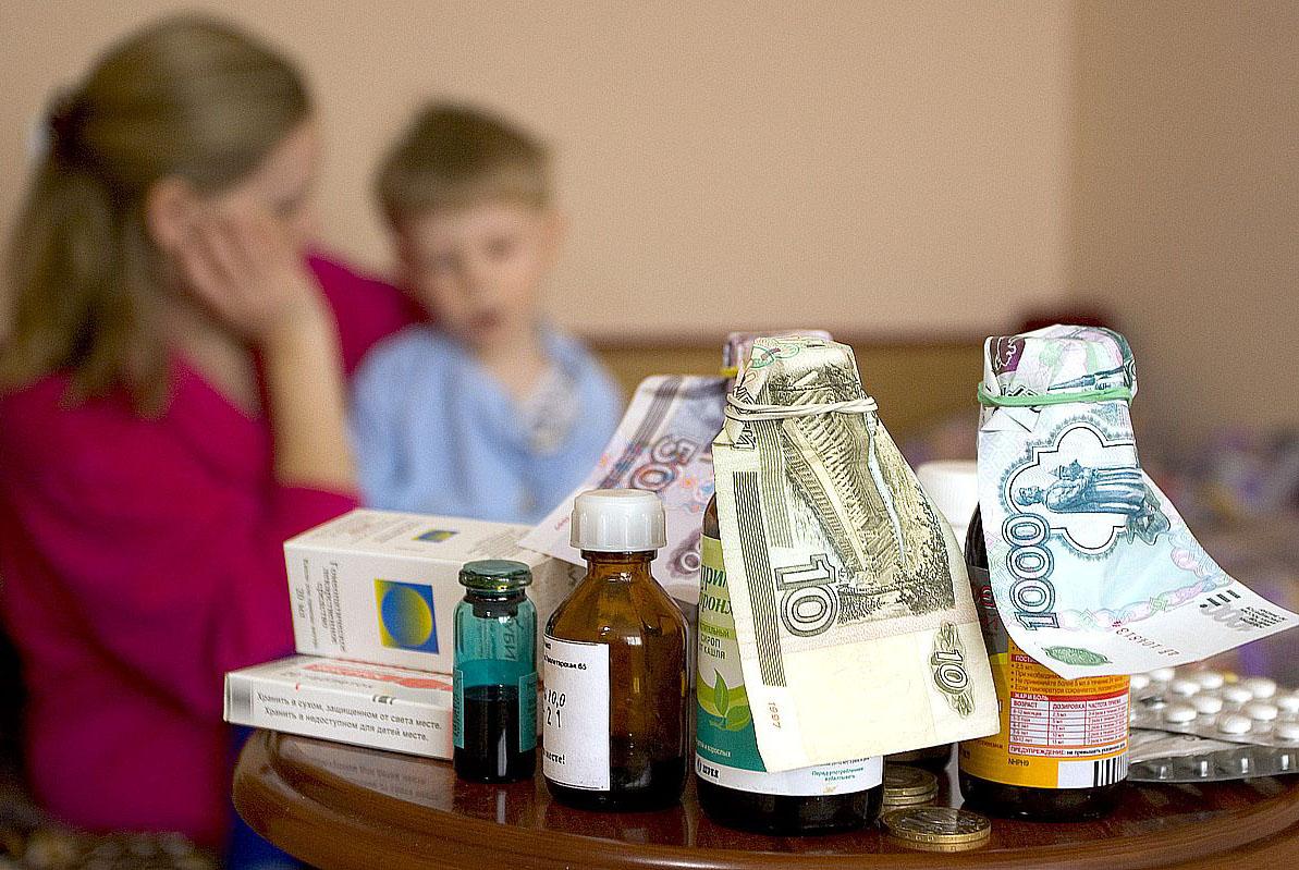 Дети и лекартства